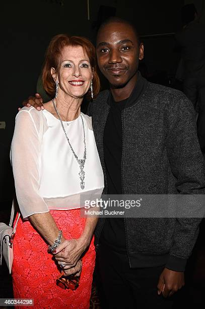Noreen Fraser Foundation Founder CEO Noreen Fraser and actor/comedian Jerrod Carmichael attend Variety's 5th annual Power of Comedy presented by TBS...