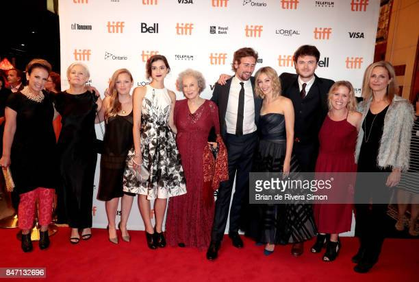 Noreen Halpern, director Mary Harron, writer Sarah Polley, actress Rebecca Liddiard, writer Margaret Atwood, actor Edward Holcroft, Sarah Gadon, Kerr...