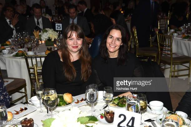 Noreen Malone and Stella Bugbee attend Ellie Awards 2017 at Cipriani Wall Street on February 7 2017 in New York City