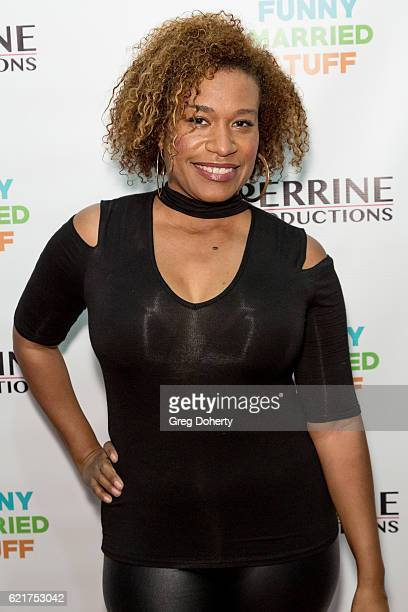 Norette Prettyman arrives for the Screening Of Perrine Productions' 'Funny Married Stuff' at the ACME Comedy Theatre on November 7 2016 in Los...