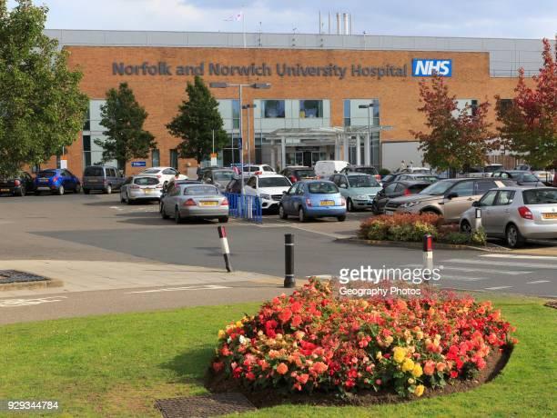 Norfolk and Norwich University Hospital, Norwich, Norfolk, England, UK.