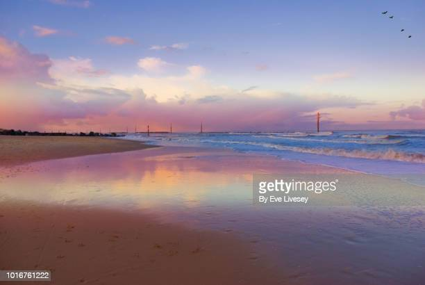 norfolk beach - norfolk east anglia - fotografias e filmes do acervo