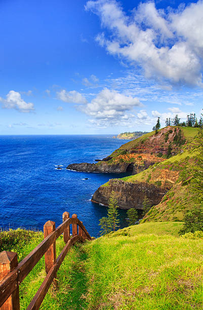 Norfolk Island coastline