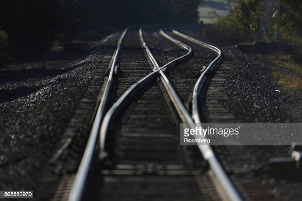 Norfolk Southern Corp train tracks are seen in McKinney Kentucky US on Tuesday Oct 17 2017 Norfolk Southern Corp is scheduled to release earnings...