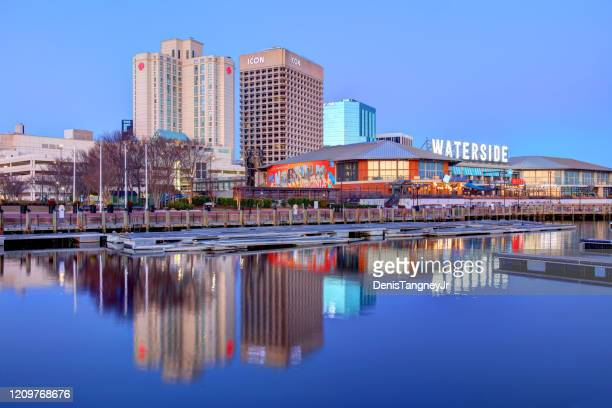 norfolk waterside district - norfolk virginia stock pictures, royalty-free photos & images