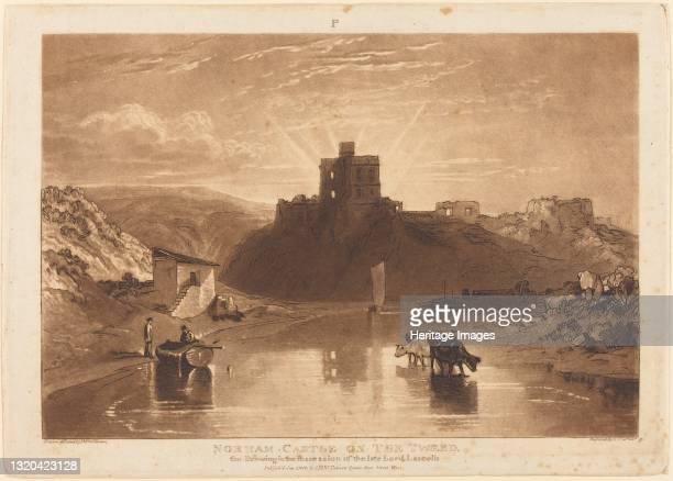Norham Castle, published 1816. Artist JMW Turner.
