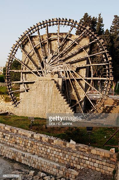 Noria on the Orontes River Hama Syria