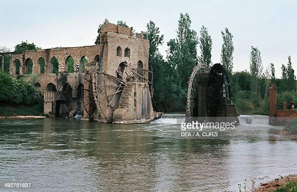 Norias on the Orontes River Hama Syria