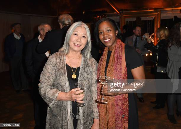 Noriko Fujinami and Diane Laviolette attends Norman Lear's 95th Birthday Celebration on December 7 2017 in Los Angeles California
