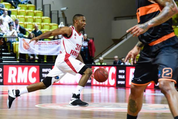 MCO: AS Monaco Basket v Prometheus Patras - Eurocup