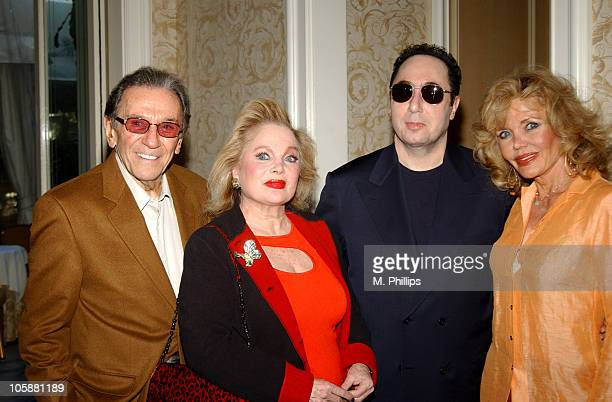 Norm Crosby Carol Connors David Gest and Deanna Lund