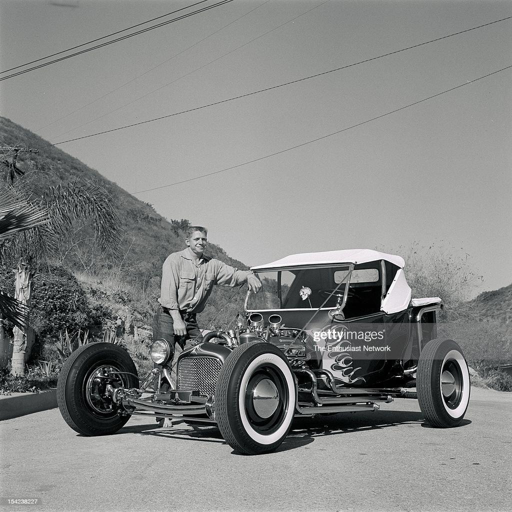 Norm Grabowski's Kookie Kar Roadster Pickup : News Photo