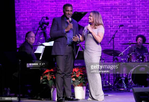 Norm Lewis and Vanessa Williams perform at the Sheen Center presents Vanessa Williams Friends thankful for Christmas with guests Norm Lewis Michael...