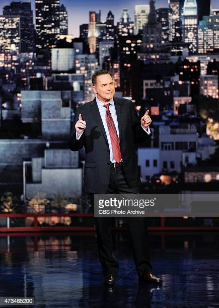 Norm Macdonald performs standup on the Late Show with David Letterman, Friday May 15, 2015 on the CBS Television Network.