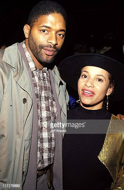 Norm Nixon Debbie Allen during HBO's Josephine Baker Story Premiere in Los Angeles California United States
