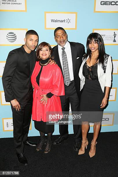 Norm Nixon Jr Debbie Allen Norm Nixon and Vivian Nixon arrive at the Essence 9th Annual Black Women event in Hollywood at the Beverly Wilshire Four...