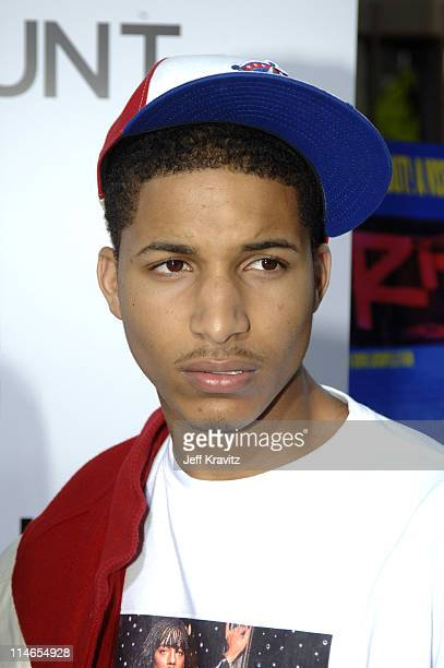 Norm Nixon Jr during Rize Los Angeles Premiere Arrivals at Egyptian Theatre in Hollywood California United States