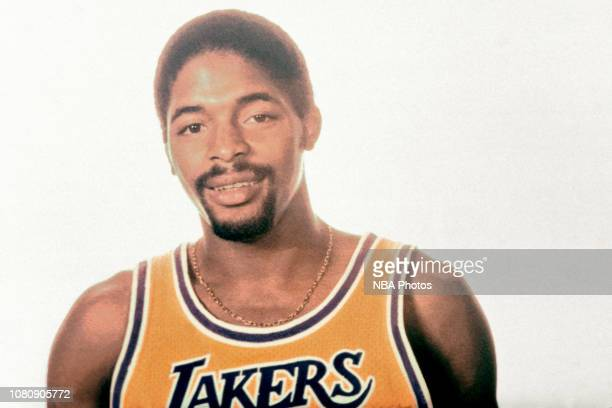 Norm Nixon of the Los Angeles Lakers poses for a portrait circa 1980 at The Forum in Inglewood California NOTE TO USER User expressly acknowledges...