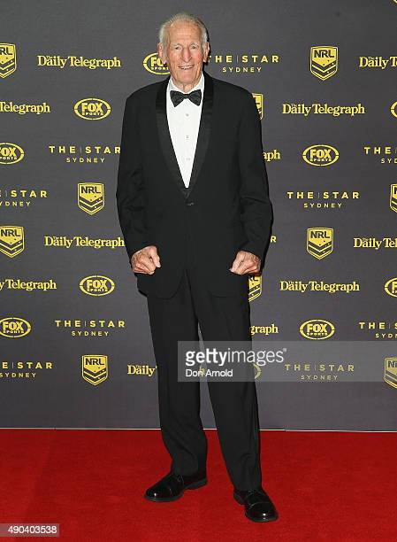 Norm Provan arrives at the 2015 Dally M Awards at Star City on September 28 2015 in Sydney Australia