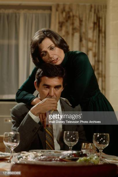 Norma Crane Pat Harrington Jr appearing in the ABC tv series 'Owen Marshall Counselor at Law' episode 'Journey Through Limbo'