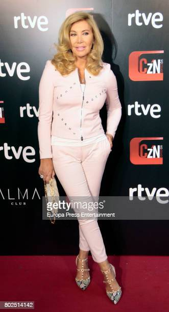 Norma Duval attends 'Corazon' TV Programme 20th Anniversary at Alma club on June 27 2017 in Madrid Spain