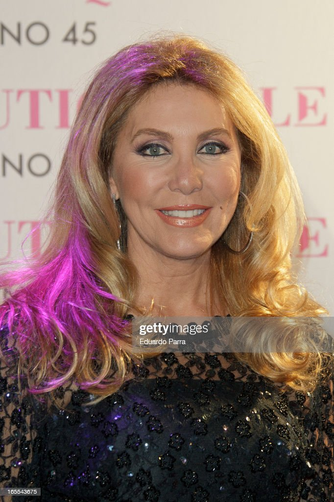 Norma Duval attends the photocall for the birthday party of Norma Duval at Le Boutique on April 4, 2013 in Madrid, Spain.