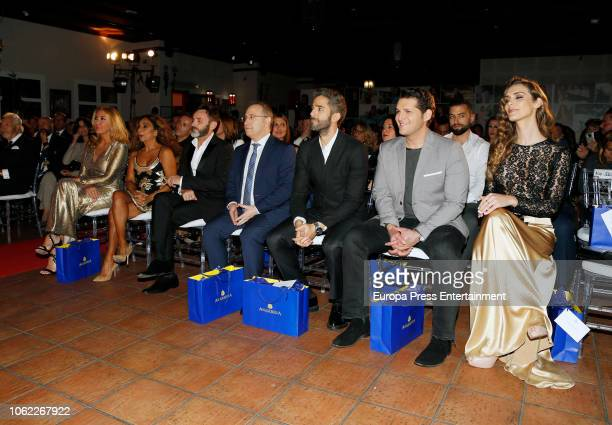 Norma Duval Lolita Floes Fernando Tejero guest Roberto Leal Manu Tenorio and Angela Ponce attend Seville Magazine VI Favorite Awards at Morera y...