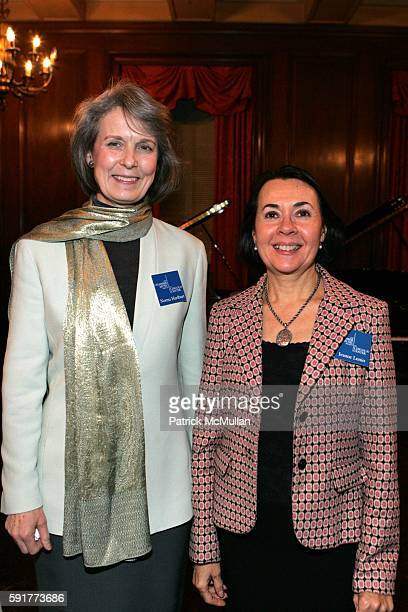 Norma Hurlbert and Jeanne Lunin attend Opus Contemporary Patrons of the Chamber Music Society of Lincoln Center Hosts an Evening With The Chamber...