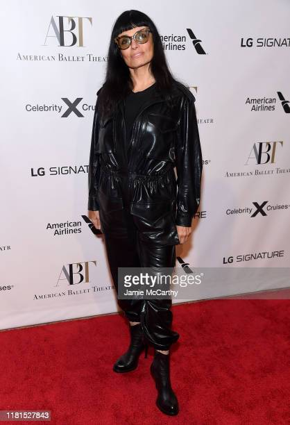 Norma Kamali attends the American Ballet Theatre 2019 Fall Gala at David H Koch Theater at Lincoln Center on October 16 2019 in New York City