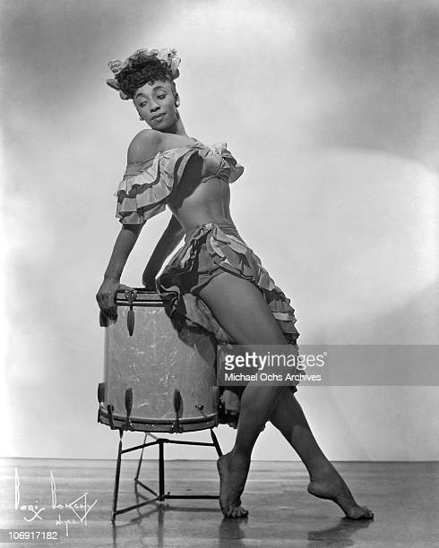 Norma Miller of Norma Miller's Dancers performing with Irwin C Miller's Brown Skin Models Harlem Road Show poses for a portrait circa 1938 in New...