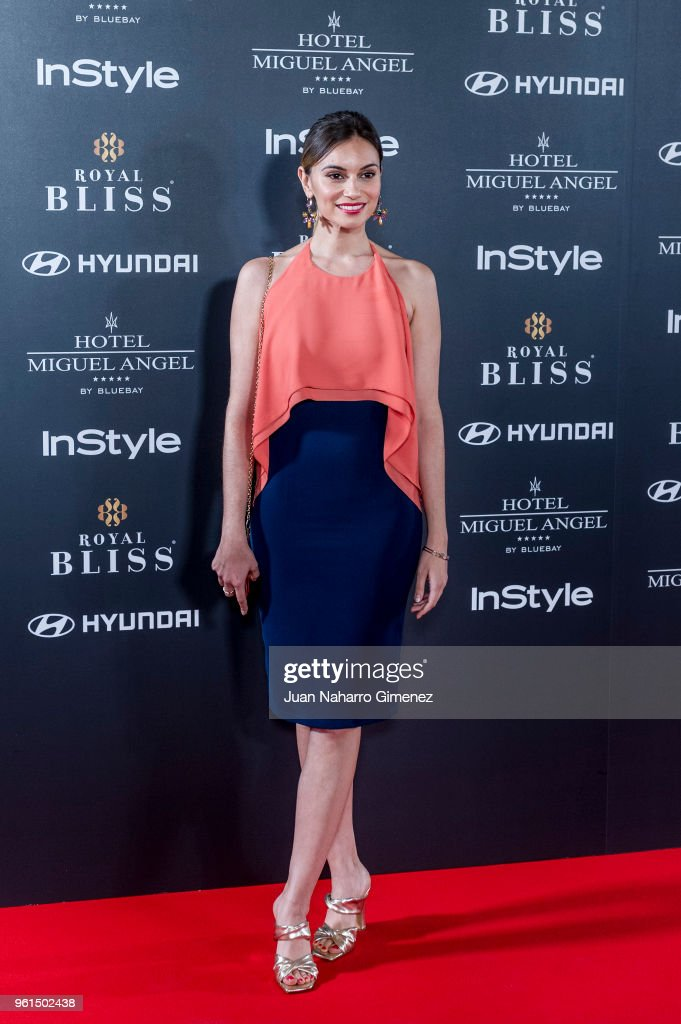 Norma Ruiz attends 'El Jardin Del Miguel Angel And Instyle Beauty Night' party at Miguel Angel Hotel on May 22, 2018 in Madrid, Spain.