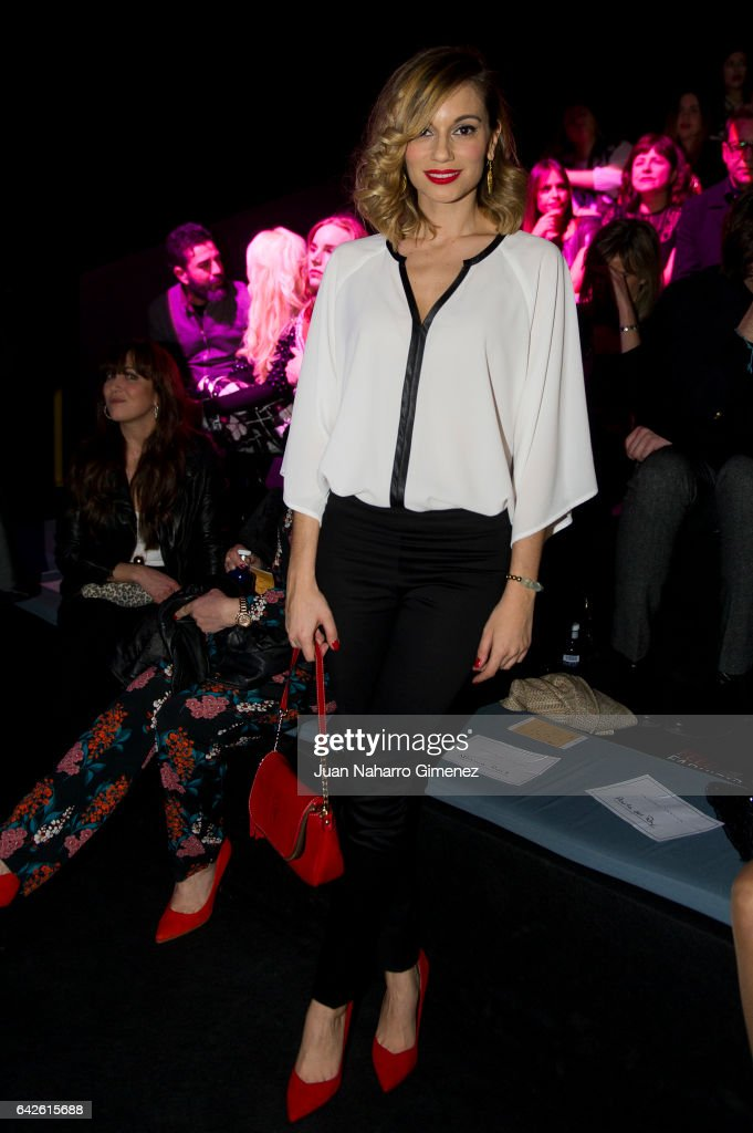 Celebrities - Day 2 - Mercedes Benz Fashion Week Madrid Autumn / Winter