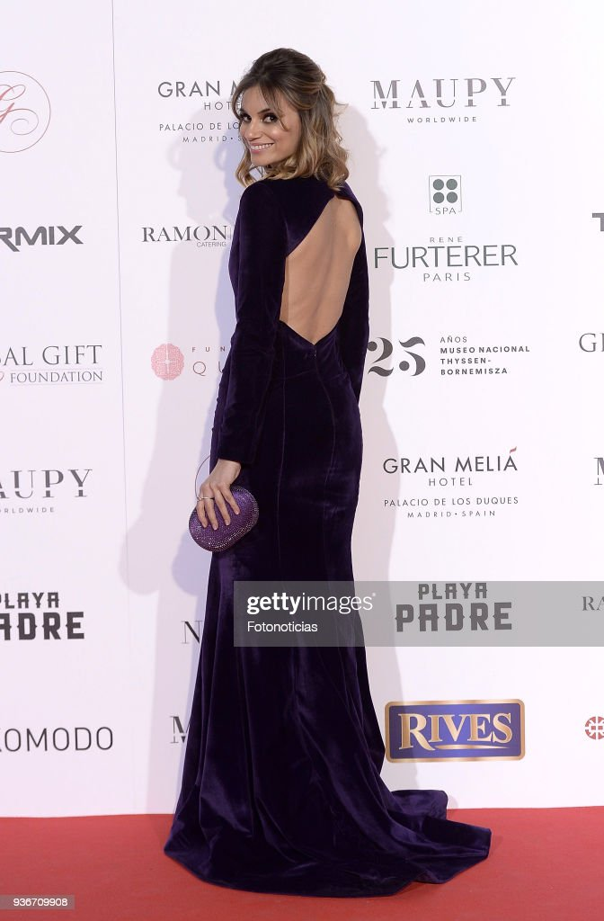 Norma Ruiz attends the III Global Gift Gala at the Thyssen-Bornemisza Musseum on March 22, 2018 in Madrid, Spain.