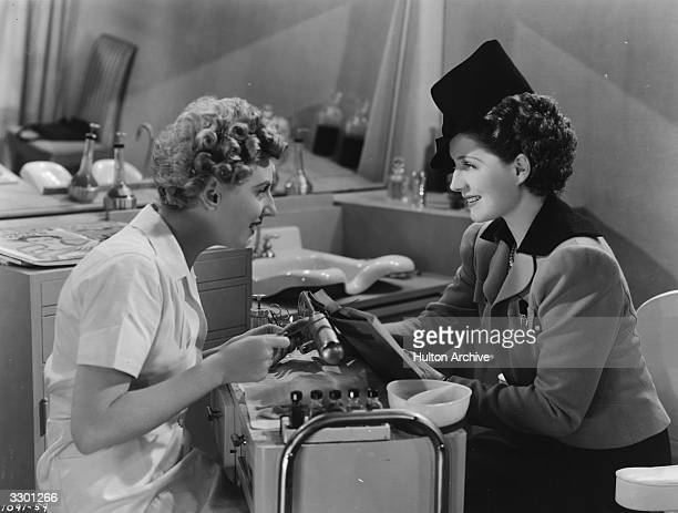 Norma Shearer and Dennie Moore are amongst the female stars who appear in 'The Women' a bitchy comedy drama directed by George Cukor for MGM