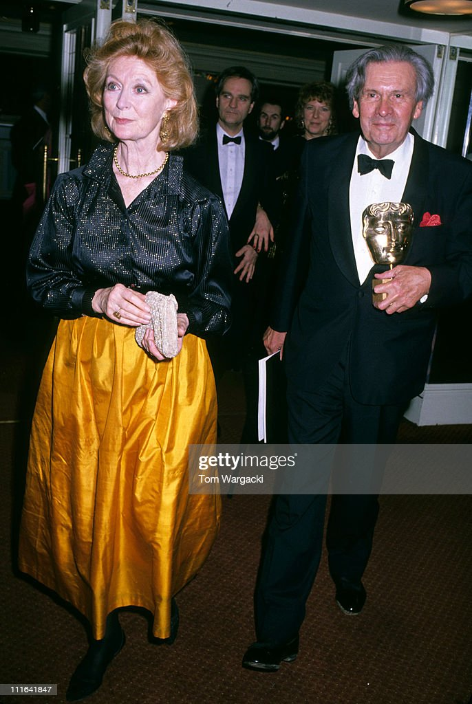 Norma Shearer at the Grosvenor House Hotel for the 1989 Bafta Awards - March