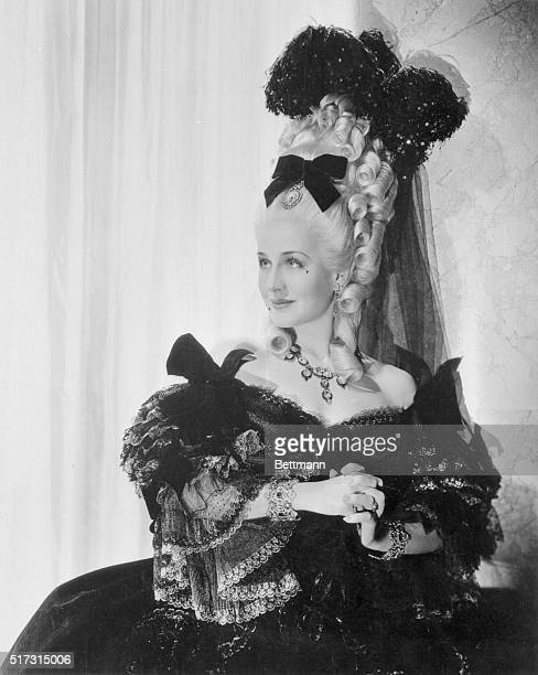 Norma Shearer resumes her career in the role of ill starred Marie Antoinette in the film of that name soon to be released by Metro Goldwyn Mayer Miss...