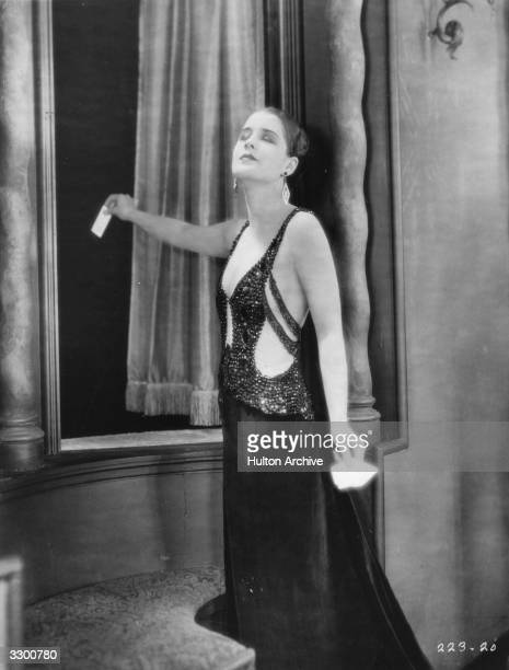 Norma Shearer stars in the film 'A Slave Of Fashion' based on a story by Samuel Shipman The film was directed by Hobart Henley for MGM