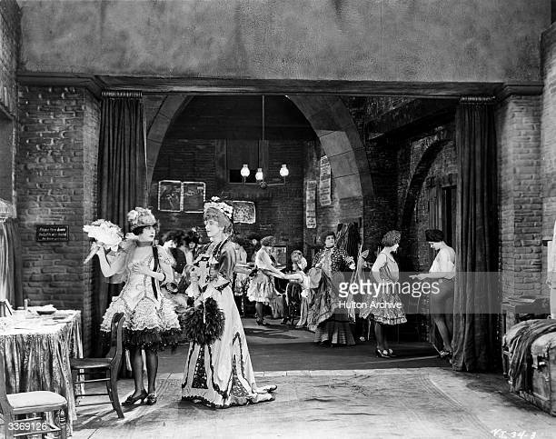 Norma Talmadge in a scene from 'The Lady' from the stage play by Martin Brown