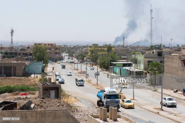 Vida normal con conflicto en Mosul, Irak