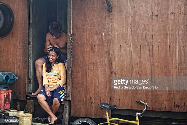 CONTENT] A normal way of life in one of the most depressed areas in the Philippines in Ulingan Tondo But despite their living conditions this couple...