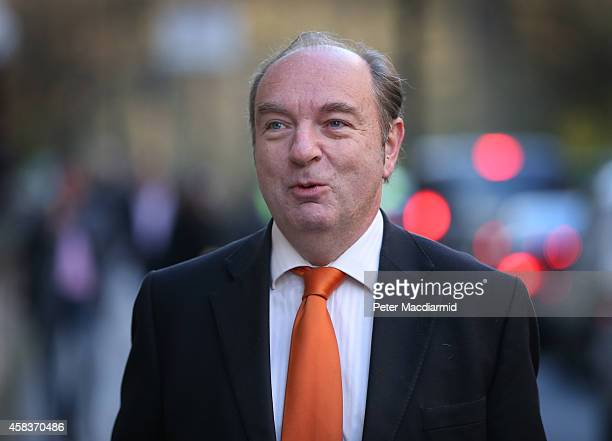 Norman Baker arrives at Liberal Democrat headquarters on November 4 2014 in London England Liberal Democrat MP Norman Baker has resigned as a Home...