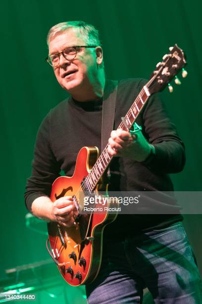 Norman Blake of Teenage Fanclub performs on stage at Assembly Rooms on September 14, 2021 in Edinburgh, Scotland.