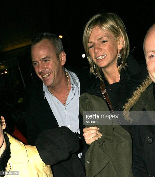 Norman Cook and Zoe Ball during Celebrity Sightings at Nobu in London January 31 2006 at Nobu in London Great Britain