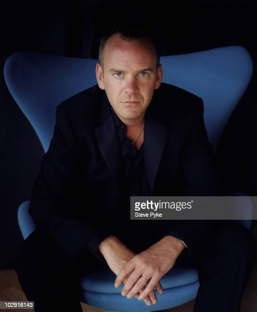 Norman Cook poses for a portrait shoot in London UK