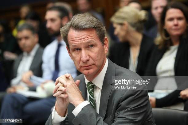 Norman E Sharpless acting commissioner of the Food and Drug Administration testifies before the House Oversight and Investigations Subcommittee...