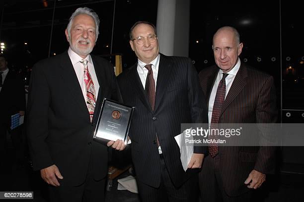 Norman Feinberg Bruce Ratner and Arnold Lehman attend THE BROOKLYN MUSEUM LOUIS VUITTON honor Artist TAKASHI MURAKAMI at The 2008 Brooklyn Ball...