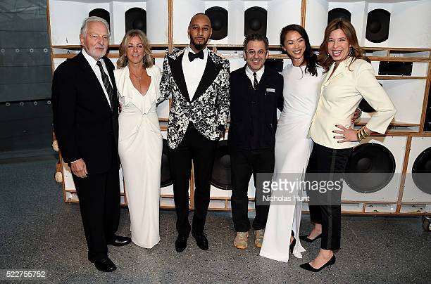 Norman Feinberg Stephanie Ingrassia Swizz Beatz Tom Sachs Olivia Song and Anne Pasternak attend The 2016 Brooklyn Museum Artists Ball Honoring...