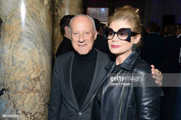 Norman Foster and Elena Ochoa Foster attend The Pink Floyd Exhibition 'Their Mortal Remains' private view at The VA on May 9 2017 in London United...