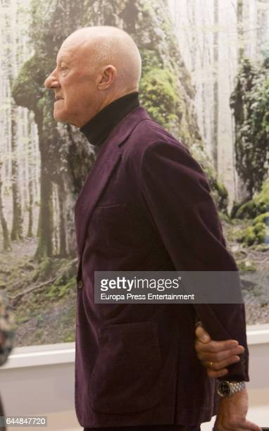 Norman Foster attends the International Contemporary Art Fair ARCO 2017 at Ifema on February 22 2017 in Madrid Spain