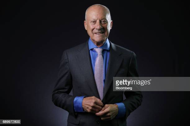 Norman Foster founder and Chairman of Foster Partners Ltd poses for a photograph following a Bloomberg Television interview in London UK on Thursday...